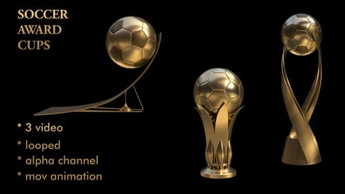 Soccer Award Cups