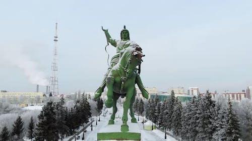 Monument To Salavat Yulaev. Ufa, Bashkortostan.