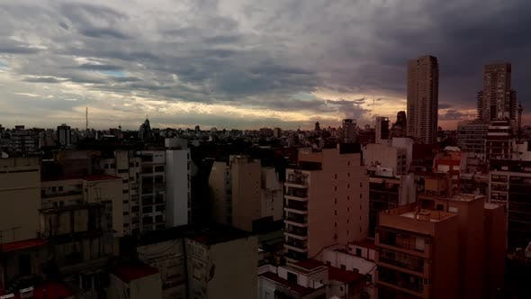 Buenos Aires City Time Lapse