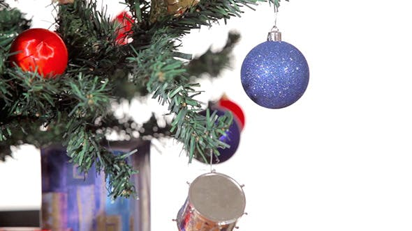 Thumbnail for Christmas Tree With Ornaments And Gifts