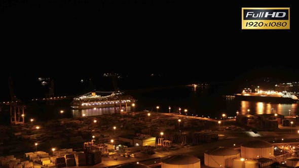 Thumbnail for Cruises in the Indstrial Port of Barcelona