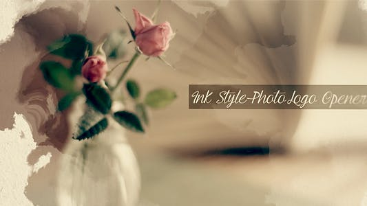 Thumbnail for Ink Style Photo Logo Opener