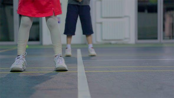 Thumbnail for Children Training Tennis