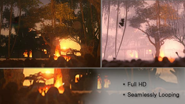 Thumbnail for Burning House