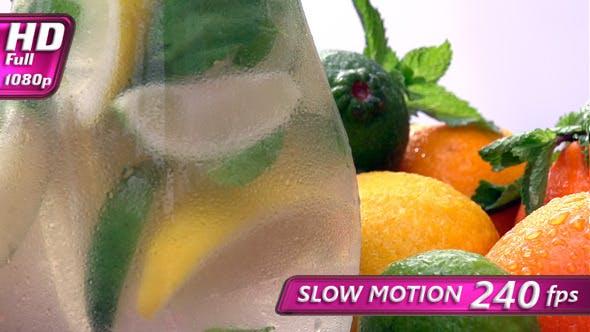 Thumbnail for Jug of Lemonade Closeup