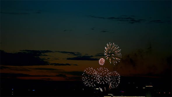 Cover Image for Evening Fireworks