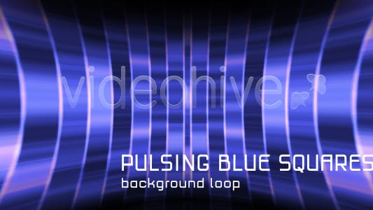 Thumbnail for Background Pulsing Blue Squares Loop