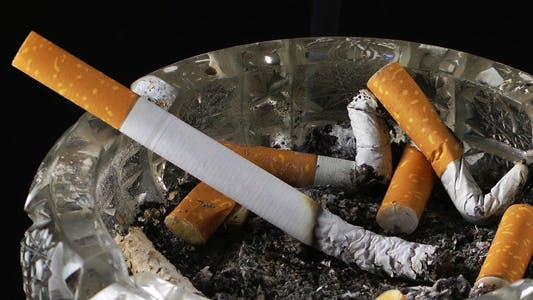 Thumbnail for Cigarette in Ashtray