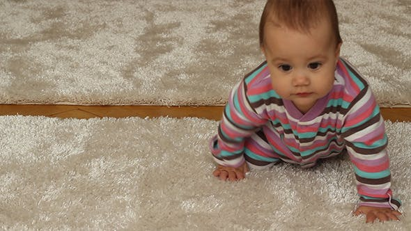 Thumbnail for Baby Girl Crawling