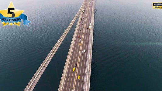 Thumbnail for Aerial View of a Bridge / Bosphorus Istanbul