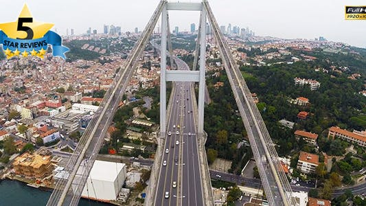 Thumbnail for Aerial View of Bosphorus Istanbul