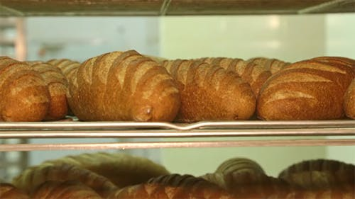 French Bread in the Bakery