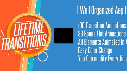 Lifetime Transitions Pack