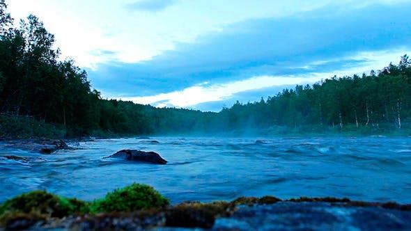 Thumbnail for Morning Fog River in Sweden