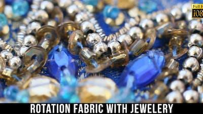 Fabric With Jewelery