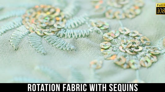 Thumbnail for Fabric With Sequins