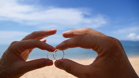 Thumbnail for Wedding Rings against Sea
