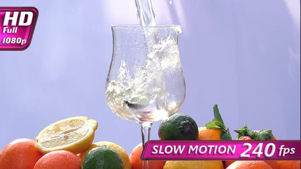 Thumbnail for Citrus Drink with Mint and Ice