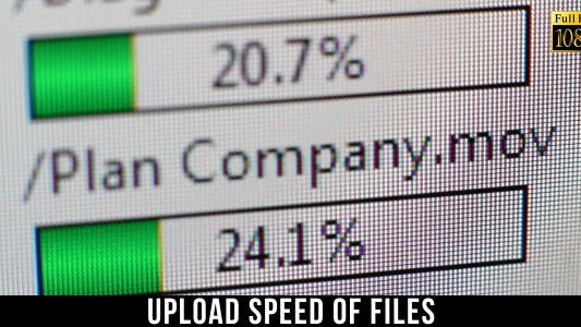 Thumbnail for Upload Speed Of Files 3