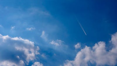 Clouds And Aircrafts