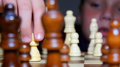 Chess Move A Pawn Forward
