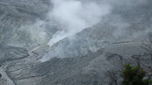 Thumbnail for Volcano Crater Smoke 02