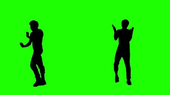 Thumbnail for Crazy Dance on Green Screen