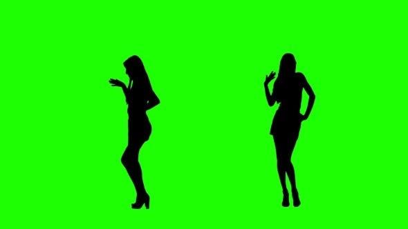 Dancing on Green Screen
