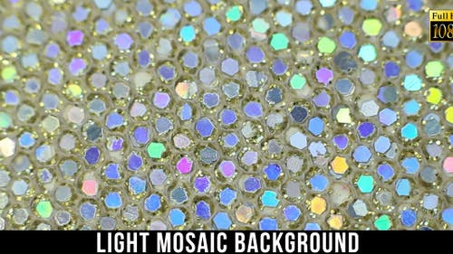 Light Mosaic Background