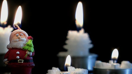 Thumbnail for Santa Claus and Candles