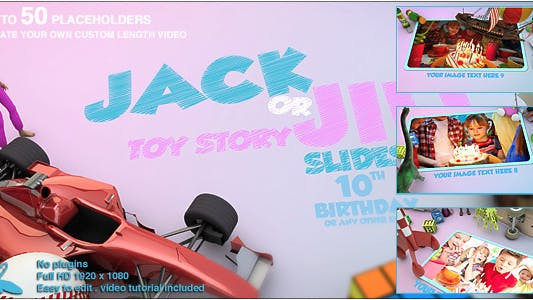 Thumbnail for Toy Story Slideshow