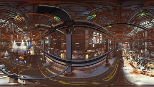 Thumbnail for VR360 Machinery Factory with Production Line