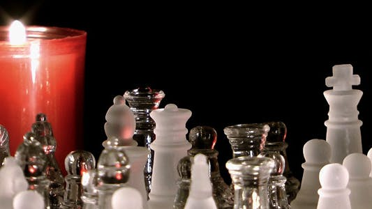 Thumbnail for Candles and Chess made by Glass 3