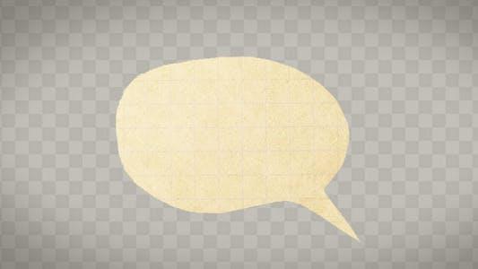 Thumbnail for Paper Comic Speech Bubbles
