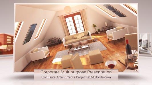 Thumbnail for Corporate Multipurpose Presentation