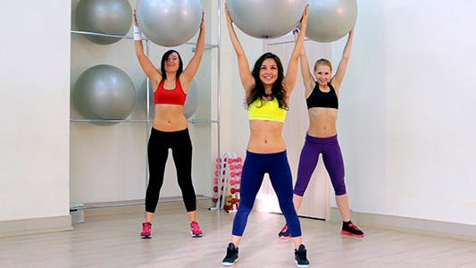 Thumbnail for Girls Doing Aerobics 5