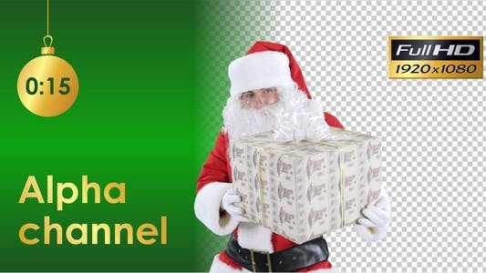 Thumbnail for Santa Claus With Gift 2