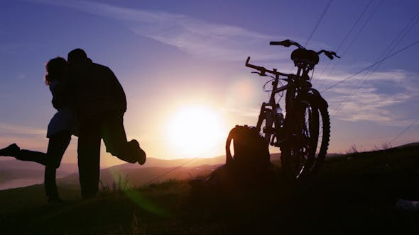 Thumbnail for Love, Sunset silhouette