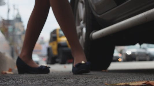 Thumbnail for Girl Sits In The Car