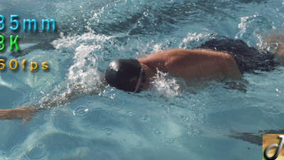 Swimmer Swimming Freestyle