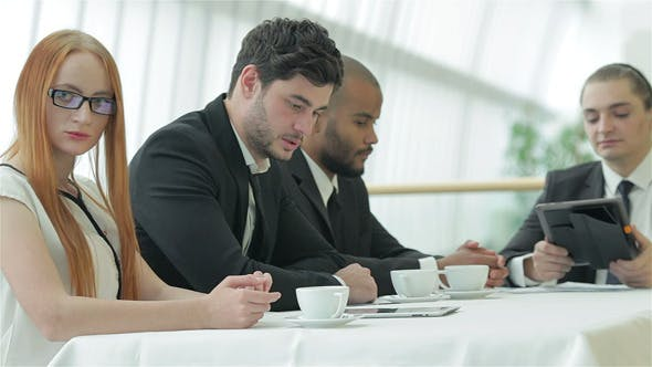 Thumbnail for Business Meeting With Colleagues