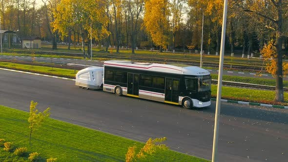 Thumbnail for Electric Bus Goes on the Road