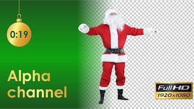 Santa Claus Sneezes