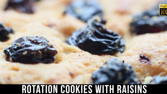 Thumbnail for Cookies With Raisins