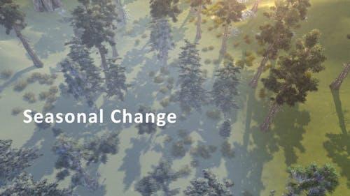Saisonale Veränderung