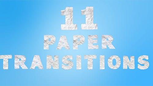 11 Papierübergänge