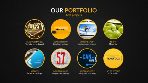 Thumbnail for Advertising Agency Infographics