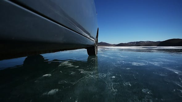Thumbnail for Drive the Car Across the Frozen Lake Baikal 14