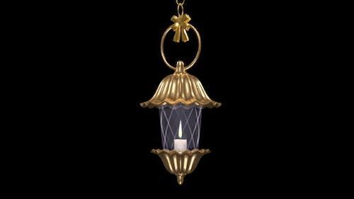 Fantasy Lantern - Golden Flower