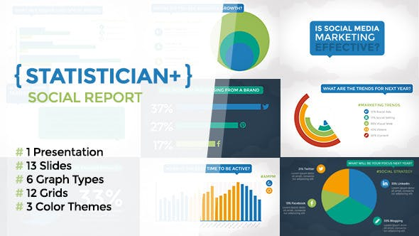 Thumbnail for Statistician Plus - Social Report